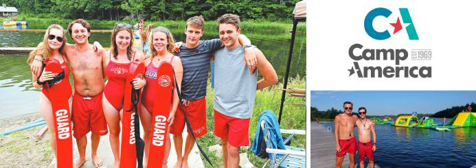 Work on a Summer Camp in the USA - Lifeguard