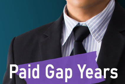 paid gap year worker